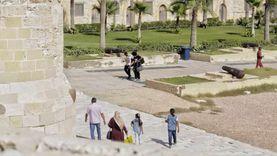 انتهاء 53% من مشروع حماية قلعة قايتباي بالإسكندرية