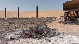 إعدام 800 شيشة وغلق 20 «كافيه وقاعة أفراح» فى حملات أمنية بقنا