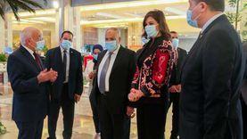 """""""التراس"""" يلتقي وزيرة الهجرة للتحضير والتنسيق لمؤتمر مصر تستطيع للصناعة"""