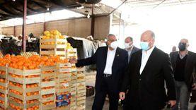 محافظ القاهرة يتفقد سوق العبور لمتابعة توفير احتياجات المواطنين