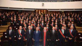 وزير العدل والنائب العام يشهدان أداء معاوني النيابة اليمين القانونية