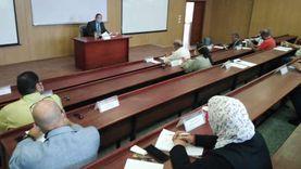 رئيس جامعة دمياط يتفقد مقر كلية الطب البشري