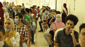 عرض فيديوهات تعريفية عن جامعة المنيا للطلاب الجدد