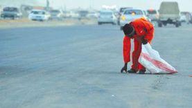 """""""أثناء عمله"""".. مصرع عامل نظافة صدمته سيارة بكورنيش الإسكندرية"""