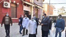 محافظ أسيوط يتفقد سير العمل في مستشفى الصدر