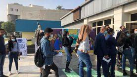 """صور.. زحام في أول يوم لعروض مهرجان القاهرة السينمائي بسبب """"السيستم"""""""