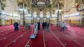حملة الأوقاف لتطهير المساجد بمحافظة الدقهلية قبل شهر رمضان
