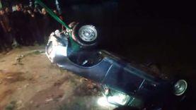 إصابة 6 أشخاص في تصادم 3 سيارات بطريق قنا سفاجا