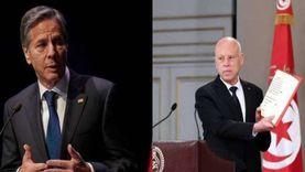 قيس سعيد يؤكد لـ واشنطن حرص تونس على الديمقراطية