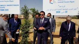 وزير التعليم العالي: تخصيص 30 فدانا لتطوير الجامعة الفرنسية في مصر