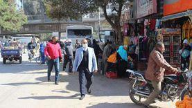 خلال جولة متابعة.. رئيس مدينة المنيا يحيل 3 موظفين للتحقيق