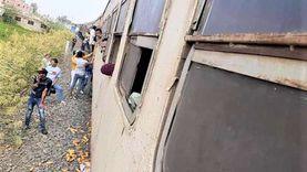 مصرع شاب تحت عجلات قطار «طنطا - المنصورة» بالمحلة