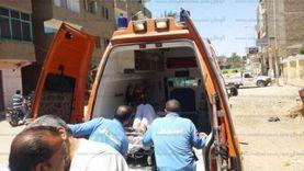 مصرع شاب وإصابة 4 في حادث تصادم بصحراوي المنيا