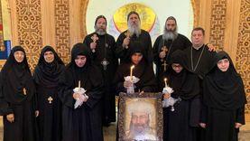 الكنيسة تعلن رسامة 3 راهبات جدد لدير القديسة دميانة
