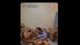 تركي آل الشيخ يبحث عن مكفوف ظهر في فيديو وهو يقطع الأخشاب