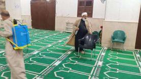 مساجد جنوب سيناء تستعد لصلاة الجمعة بالتعقيم والتطهير