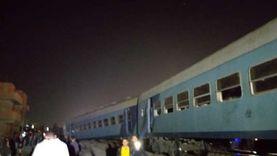 تفاصيل حادث «قطار منيا القمح»: 15 مصابا وخروج عربات عن القضبان