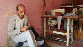 أبو وجيه :ورثت صناعة الجلابية عن والدي ورزقي مصدره خرم إبره