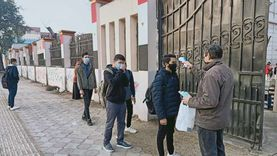 إجراءات مشددة ضد كورونا بمدرسة السعيدية قبيل امتحانات أولى ثانوي