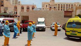وفاة مصابين اثنين بكورونا داخل عزل بلطيم.. والعدد يرتفع لـ17 خلال 3 أسابيع