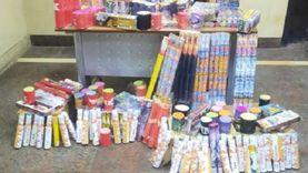 ضبط 225 ألف صاروخ ألعاب نارية داخل مخزن بالقاهرة معدة للإتجار