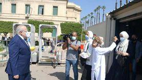 جامعة القاهرة: استمرار تطعيم الطلاب بلقاح كورونا