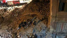 ارتفاع عدد ضحايا عقار محرم بك المنهار في الإسكندرية إلى 4