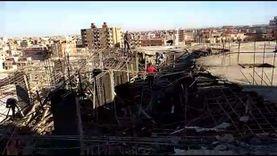 إزالة بناء مخالف بحي العجمي في الإسكندرية