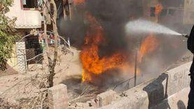 إصابة 9 من أسرة واحدة في انفجار أسطوانتي غاز بقليوب