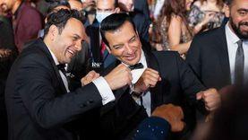 إيهاب توفيق ينشر 7 صور من حفل زفاف إياد مصطفى قمر
