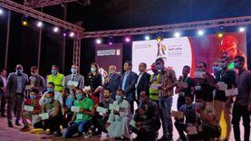 """""""الأورمان"""" توزع 50 مشروعا على شباب المنيا بحضور وزيرة الهجرة"""