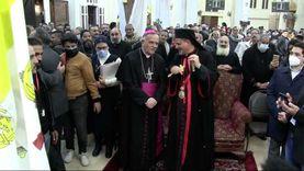 سفير الفاتيكان يحضر الاحتفال بمرور عام على تدشين مطرانية أبو قرقاص