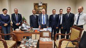 جمارك مطار القاهرة تحبط 3 محاولات لتهريب أقراص مخدرة ومصنوعات العاج