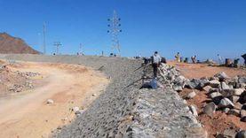 927 مليون جنيه لحماية 4 مدن بجنوب سيناء من أخطار السيول