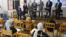 رئيس جامعة بنها يحث الطلاب على اتباع الإجراءات الوقائية لمواجهة كورونا