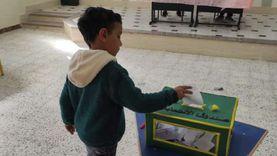 نموذج محاكاة للانتخابات البرلمانية بمدرسة المروة جنوبي سيناء
