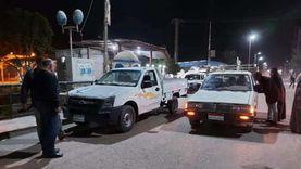 ضبط 20 مواطنا بدون كمامة في مدينة إسنا جنوب الأقصر