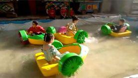 ألعاب مائية بسوق الششتاوي.. ملاهي الغلابة في الغربية