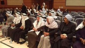 خيمة رمضانية بمركز شباب العريش.. شعر وإنشاد وتنورة