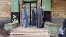 جولات مفاجئة على مساجد المنيا لمتابعة الالتزام بالإجراءات الوقائية