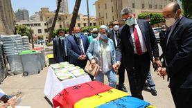«البيئة» تشهد استلام جامعة القاهرة أجهزة طبية ضمن خطة «إدارة المخلفات»