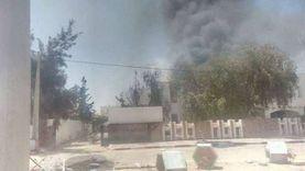 عاجل.. محتجون يحرقون مركز أمن بمدينة سوسة في تونس