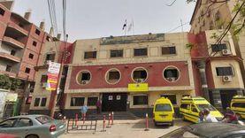 إصابة 9  أشخاص في حادث مروري بصحراوي بني سويف