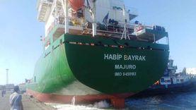 شحن 5400 طن صودا كاوية وتداول 27 سفينة بموانئ بورسعيد