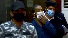بالبدلة الحمراء.. سفاح الجيزة يظهر أمام المحكمة اليوم بتهمة قتل زوجته وصديقه