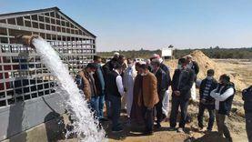 مياه جوفية وكهرباء ومحجر بيطري.. 3 مشروعات جديدة لتنمية مطروح وسيوة