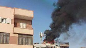 إخماد حريق اندلع داخل مطعم دون إصابات بمدينة السادات
