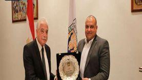 فودة يكرم المحامي العام الأول لنيابات جنوب سيناء