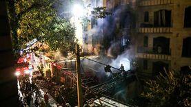 انفجار خزان واندلاع حريق في مجمع صناعي في إيران