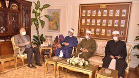 محافظ أسيوط يلتقى وكيل وزارة الأوقاف و يشدد على الإجراءات الاحترازية
